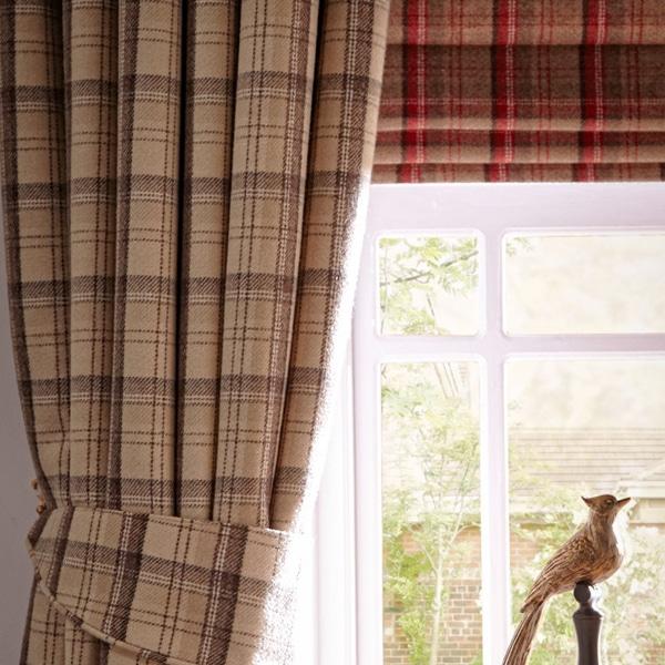 tartan Curtains