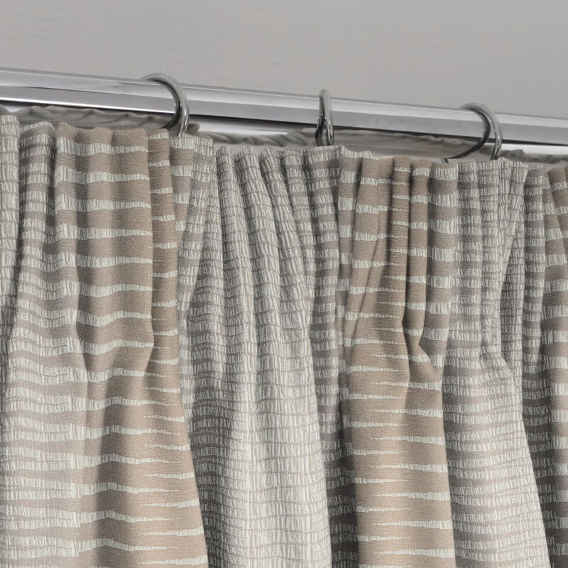 Blackout blinds - pencil pleat, available in Glasgow