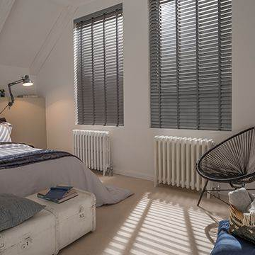 Glasgow Wooden Venetian Blinds