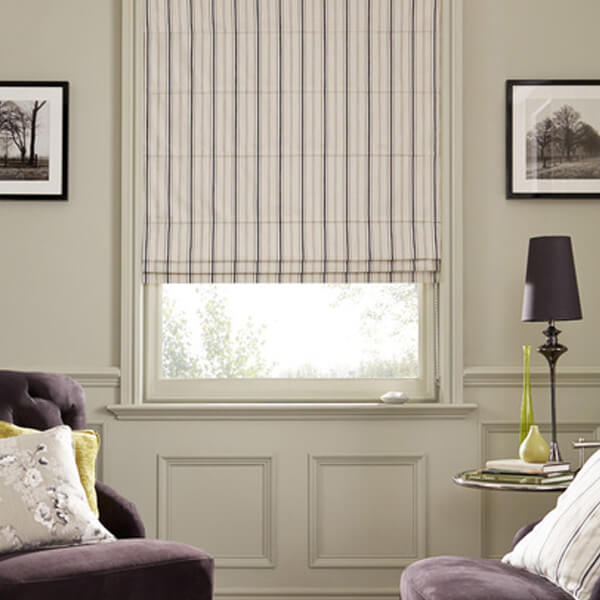 Glasgow Roman Blinds